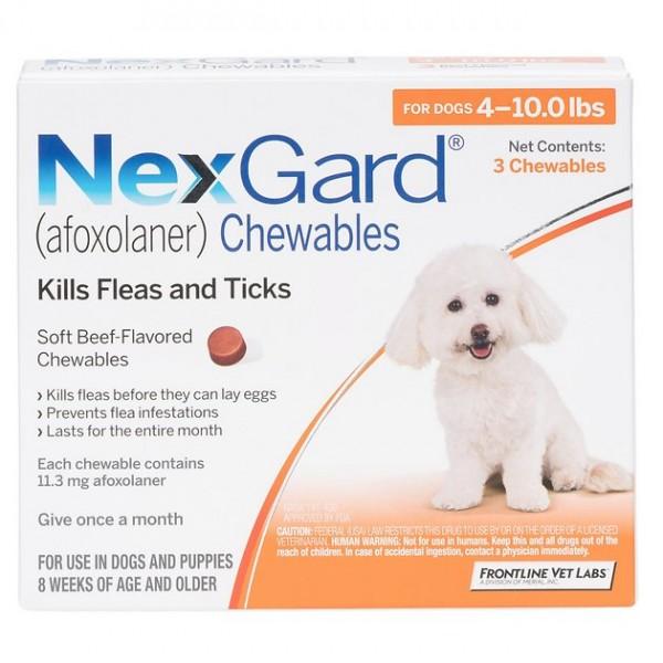 nexgard 4-10 lbs
