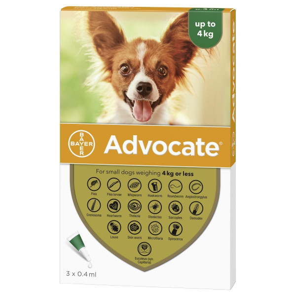 advocate up to 4kg